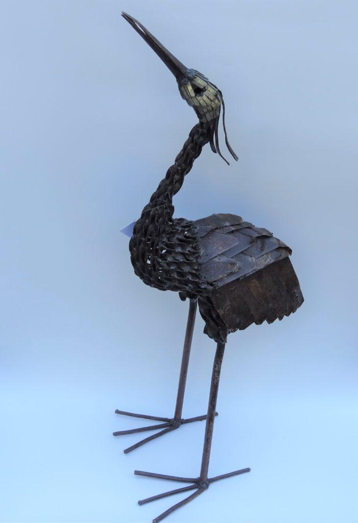 Fairtrade Cadeauwinkel beelden gerecycled metaal cadeau kado