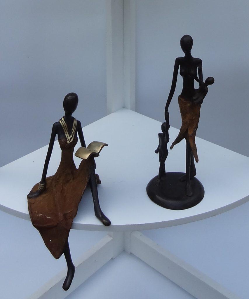 Fairtrade Cadeauwinkel beelden brons Burkina Faso kunstnijverheid cadeau kado
