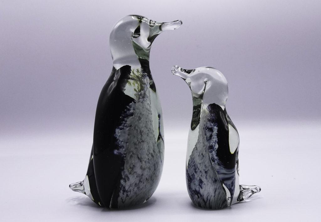 Eerlijk & Werelds glas pinguin