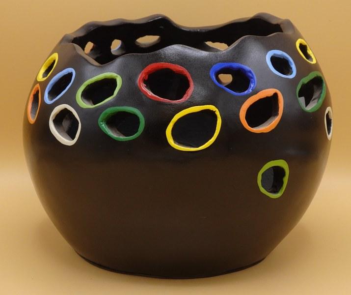 Eerlijk & Werelds vaas aardewerk