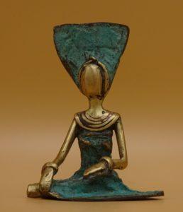 Fairtrade Cadeauwinkel bronzen beeld