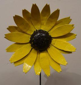Fairtrade Cadeauwinkel scrapmetal bloem