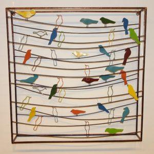Fairtrade Cadeauwinkel vogels wanddecoratie