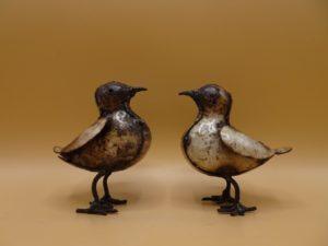 Fairtrade Cadeauwinkel vogel gerecycled staal
