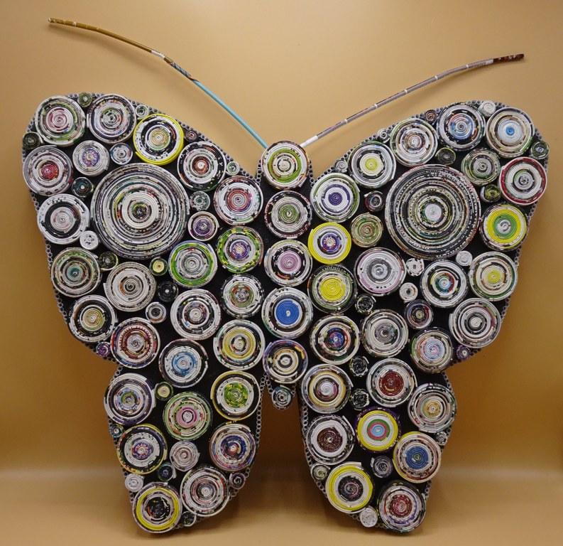 Fairtrade Cadeauwinkel papier vlinder