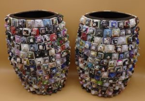 Fairtrade Cadeauwinkel papier vaas