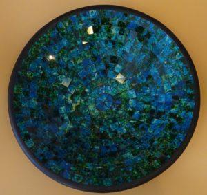 Fairtrade Cadeauwinkel schaal gerecycled glas