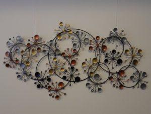 Fairtrade Cadeauwinkel wanddecoratie cirkels kristallen