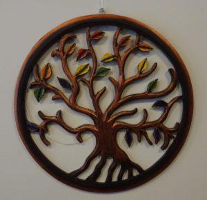 Fairtrade Cadeauwinkel wanddecoratie boom
