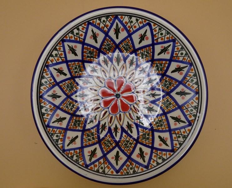 Eerlijk & Werelds schaal aardewerk Tunesië
