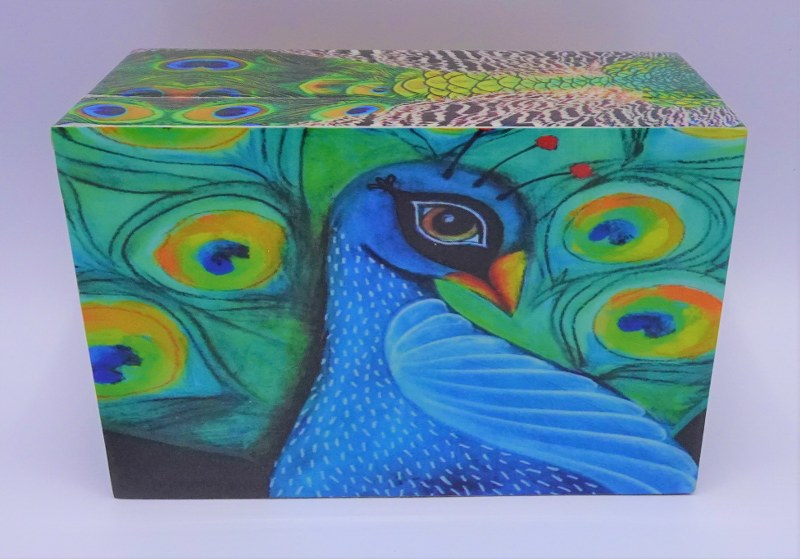 Fairtrade Cadeauwinkel sieradendoos fazant