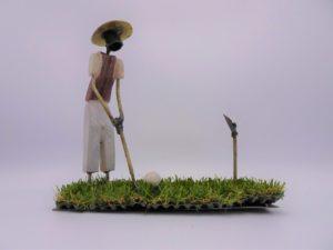 Fairtrade Cadeau Winkel golfer mat
