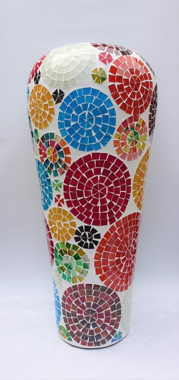 Fairtrade Cadeauwinkel vaas keramiek mozaiek