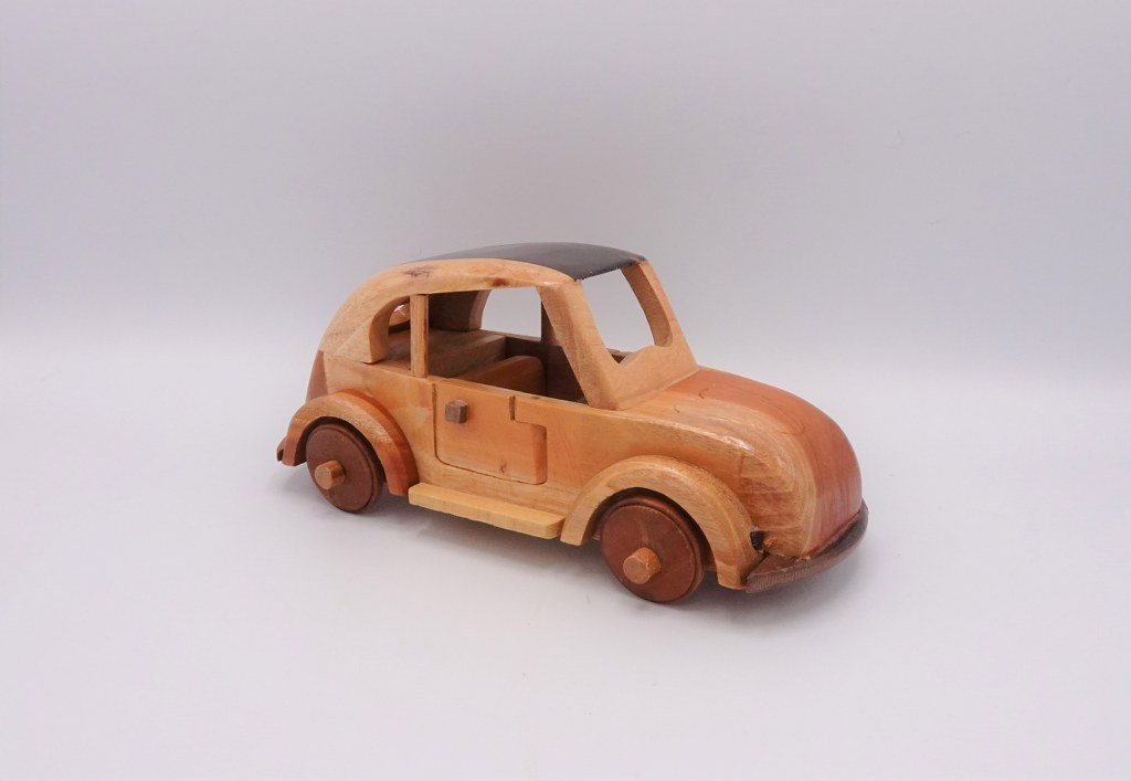 Eerlijk & Werelds auto hout