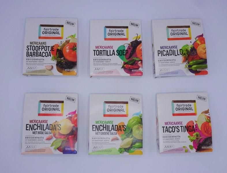 Eerlijk & Werelds fairtrade original mexicaanse kruiden