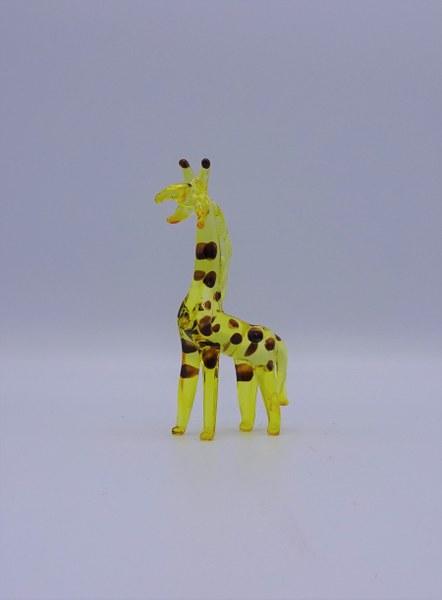 Eerlijk & Werelds fairtrade glas giraf