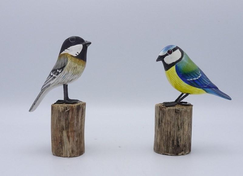 Eerlijk & Werelds vogels drijfhout