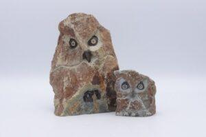 Eerlijk & Werelds stenen uil