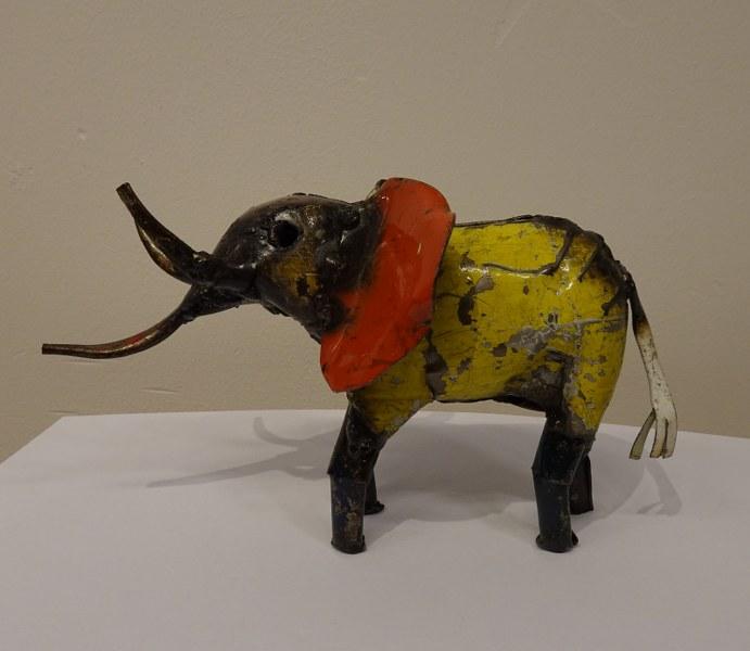 Eerlijk & Werelds olifant gerecycled metaal