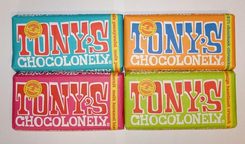 Eerlijk & Werelds Tony's Chocolonely