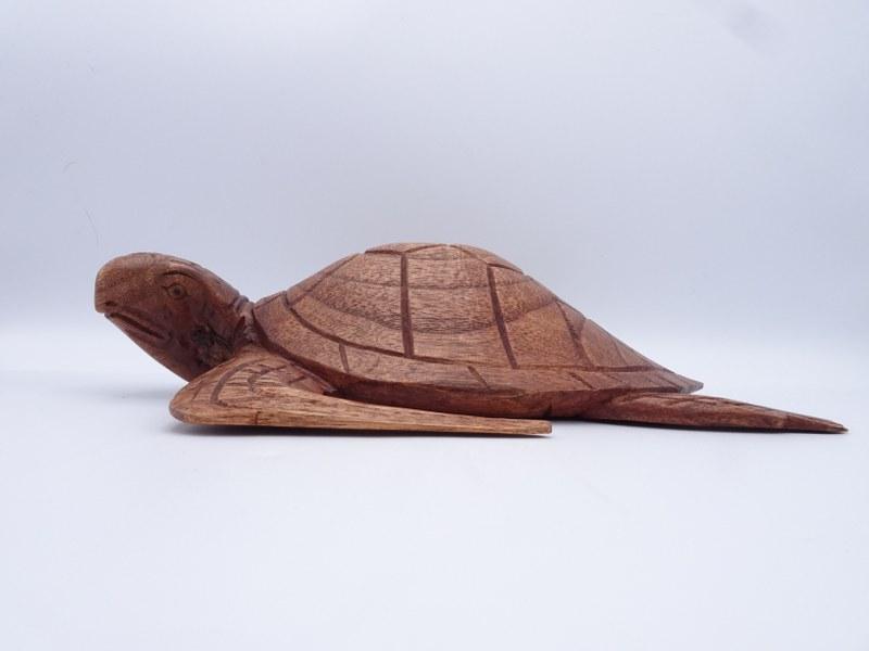 Eerlijk & Werelds houten schildpad