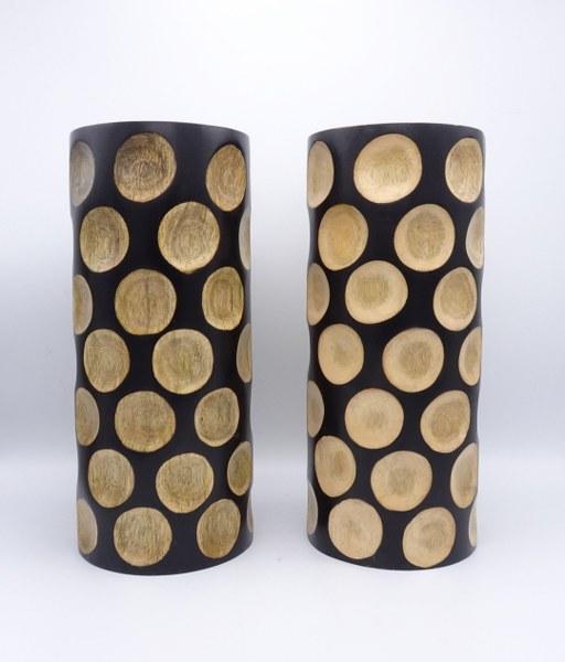 Eerlijk & Werelds houten vaas