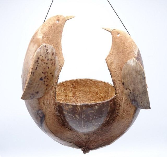 Eerlijk & Werelds vogelbakje kokosnoot