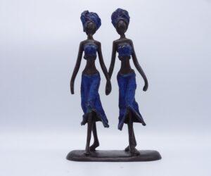 Eerlijk & Werelds beeld brons