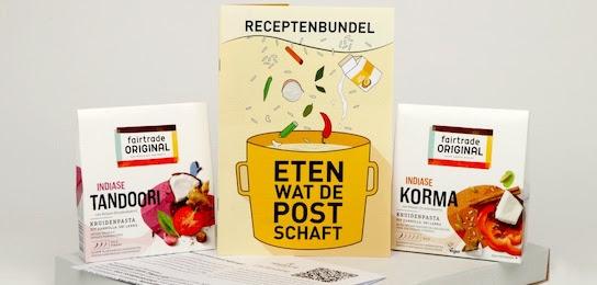 Eerlijk & Werelds Eten wat de post schaft