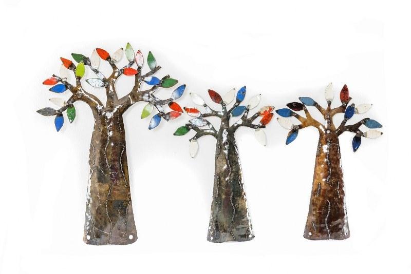 Eerlijk & Werelds scrab metal bomen